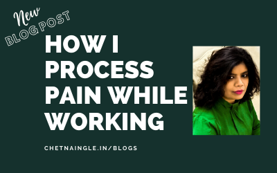 Episode 18: How I Process Pain While Working