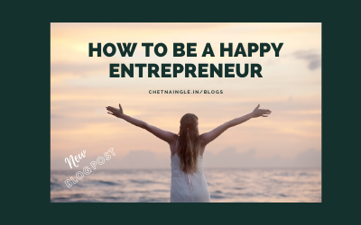 How To Be a Happy Entrepreneur