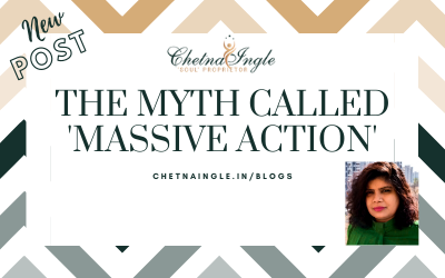 """The Myth Called """"Massive Action"""""""